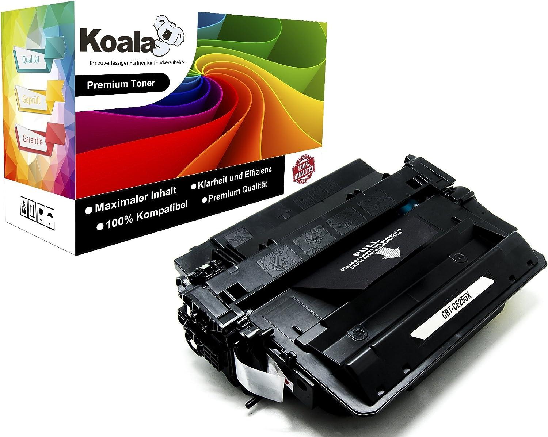 Koala Toner Compatible With Hp 55x Ce255x 55a Ce255a For Hp Laserjet P3015 P3015d P3015dn P3015n P3015x Pro M520 Laserjet Pro Mfp M521dn M521dw Laserjet 500 Mfp M525f 12 500 Pages 1 Bk Amazon De