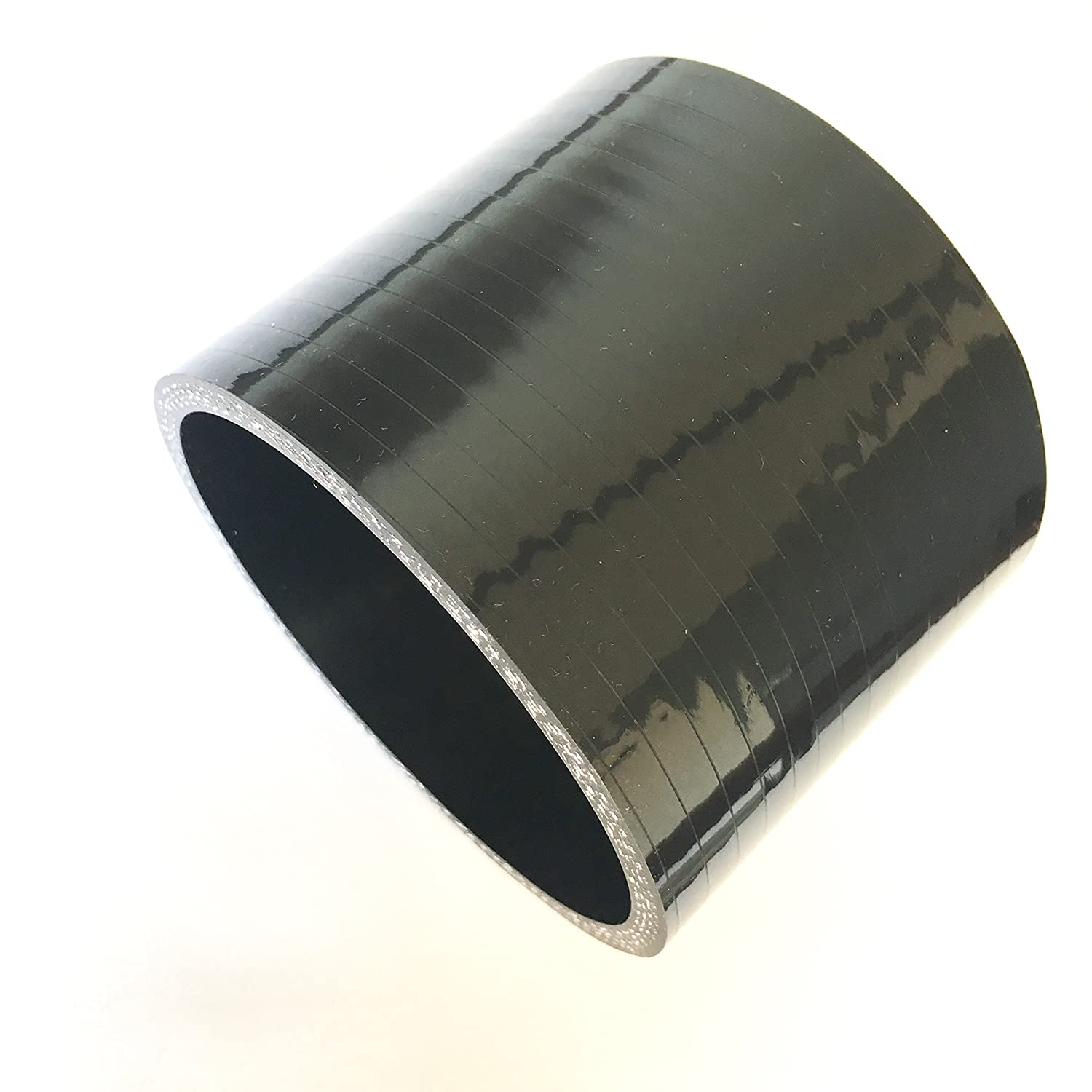 2.5 ID Straight Silicone Hose Coupler High Temp 4-Ply Reinforced Ticon Industries - 131-06303-0401 Qty 1