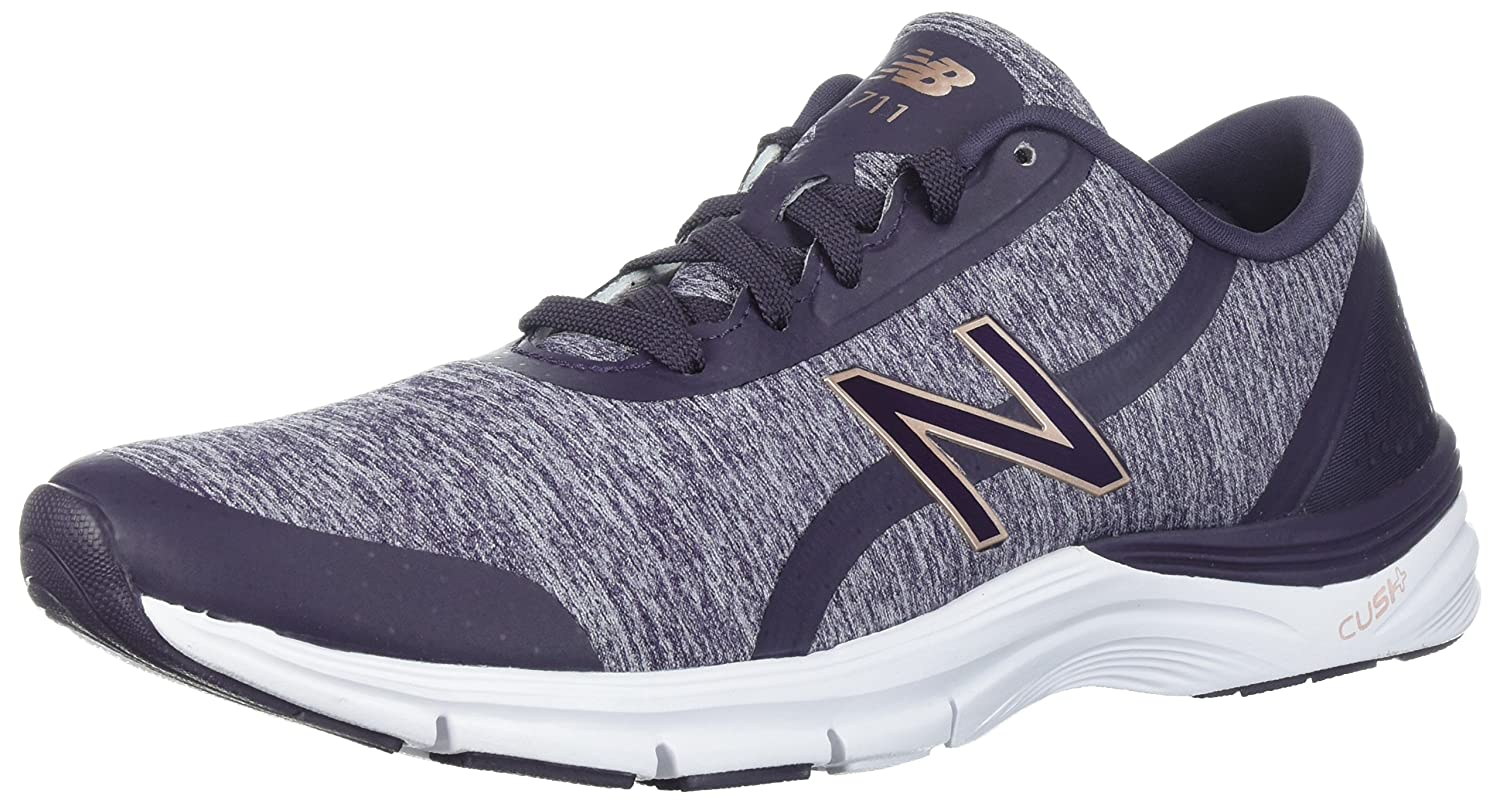 New Balance Women's 711v3 Cross Trainer B06XWV7MQM 10 D US|Elderberry