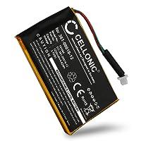 subtel® Batteria premium per Garmin Edge 605 Garmin Edge 705 (1250mAh) 361-00019-12 Batteria di ricambio, accu sostituzione, sostituto
