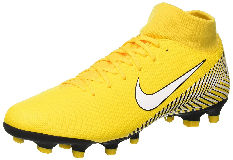 MultiCouleure (jaune blanc noir 710) Nike Superfly 6 Academy NJR FG MG, Chaussures de Fitness Mixte Adulte 46 EU