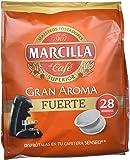 """Café molido de tueste natural en monodosis. Marcilla Gran Aroma """"Fuerte"""" - [Pack de 5]"""
