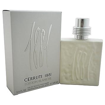 9c4d85a631 Cerruti 1881 Edition BLANCHE for MenEau De Toilette Spray 100 ML:  Amazon.co.uk: Beauty