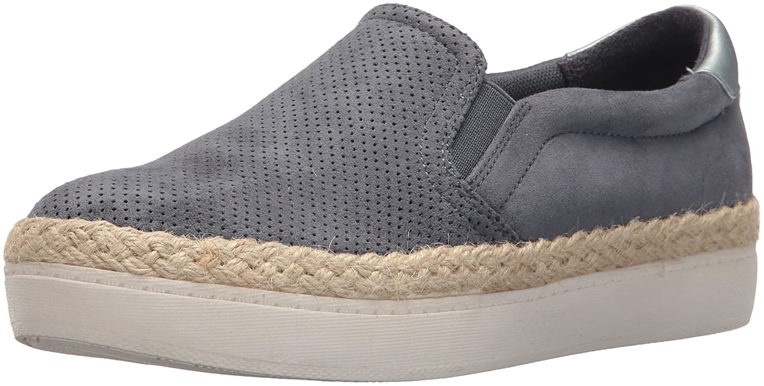 Dr. Scholl's Shoes Women's Madi Jute Sneaker B074ZZVCBV 9 B(M) US|Oxide Microfiber Perforated