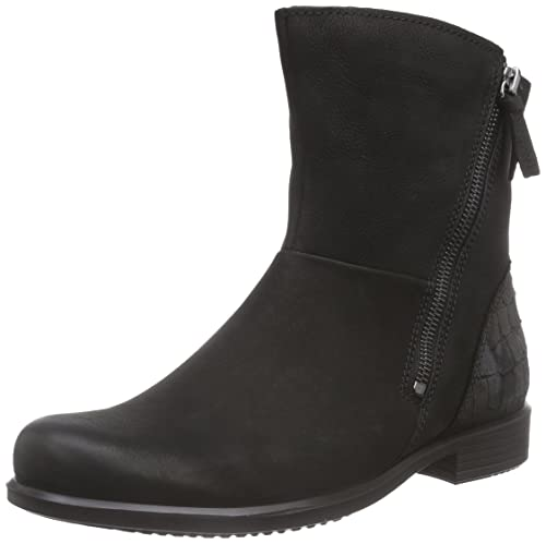 ECCO Touch 25 B, Ankle Boots, Black (Black/Black), 3.5