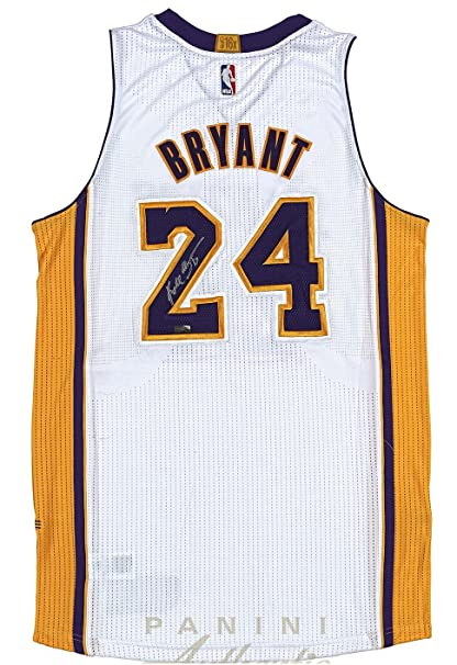 huge discount 259e3 0af4c Kobe Bryant Hand Signed Autographed Authentic White Jersey ...
