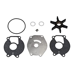 Quicksilver 85089Q4 Water Pump Repair Kit - 15 through 25 Horsepower 2-Cycle Mercury and Mariner Outboards