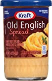 Kraft Old English Cheese Spread, 5-Ounce (Pack of 6)