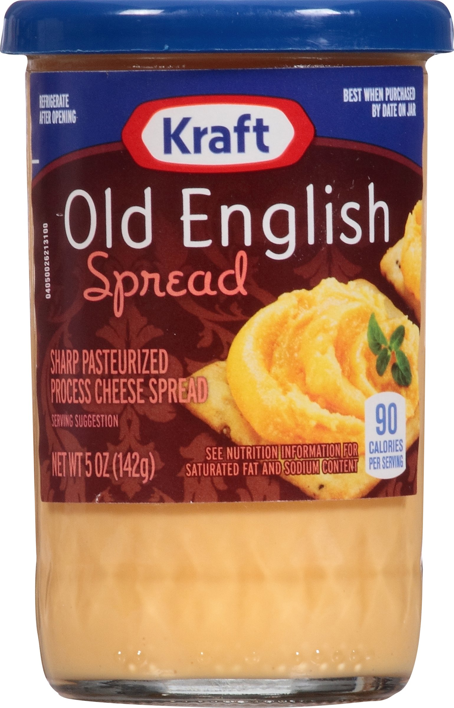 Kraft Old English Cheese Spread, 5-Ounce (Pack of 6) by Kraft
