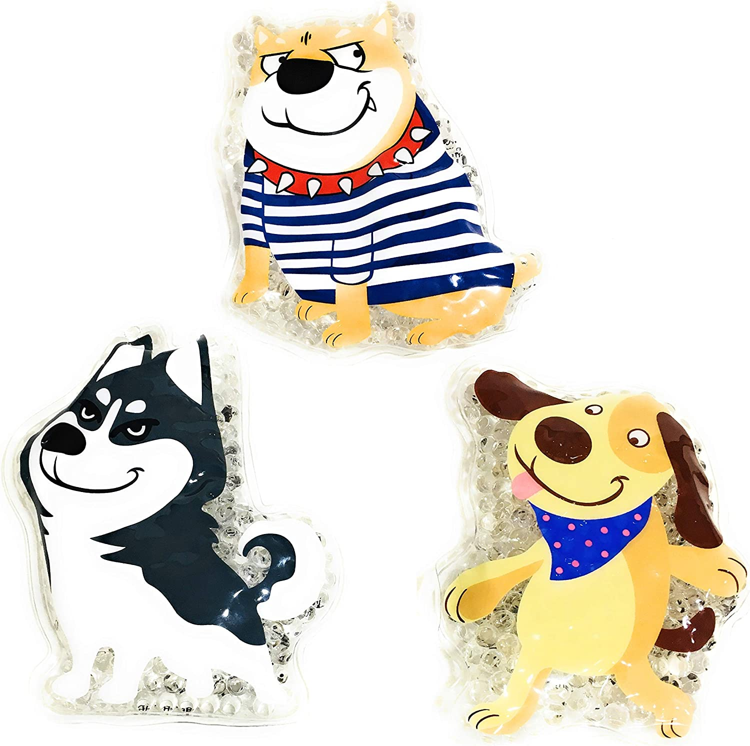 Myco International Polar Dogs 3 Pack Cold or Warm Packs