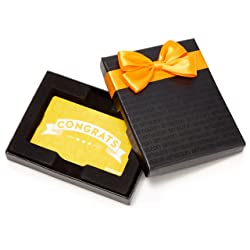 Amazon.com Gift Card in a Black Gift Box  link image