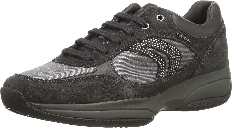 GeoxD XAND A Sneaker Donna, Grigio (Grau (C9380ANTHRACITE