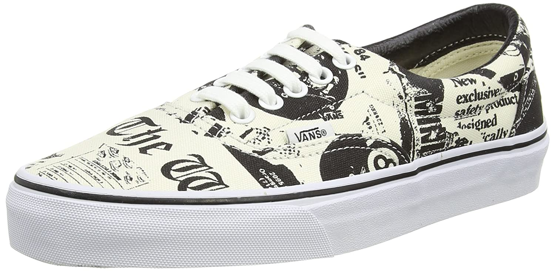 Vans Era, Unisex-Erwachsene Sneakers  36 EU|Beige (Beige (Newsprint/White))