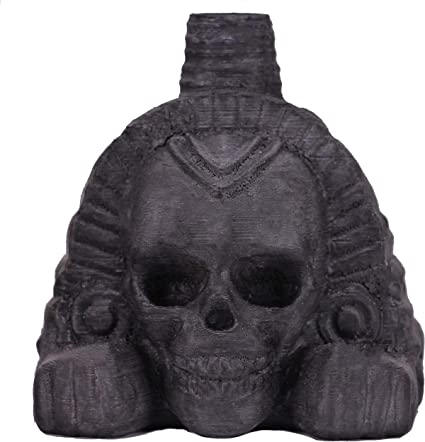 Screaming Whistle Loud 3D Printed Aztec Death Whistle Skull
