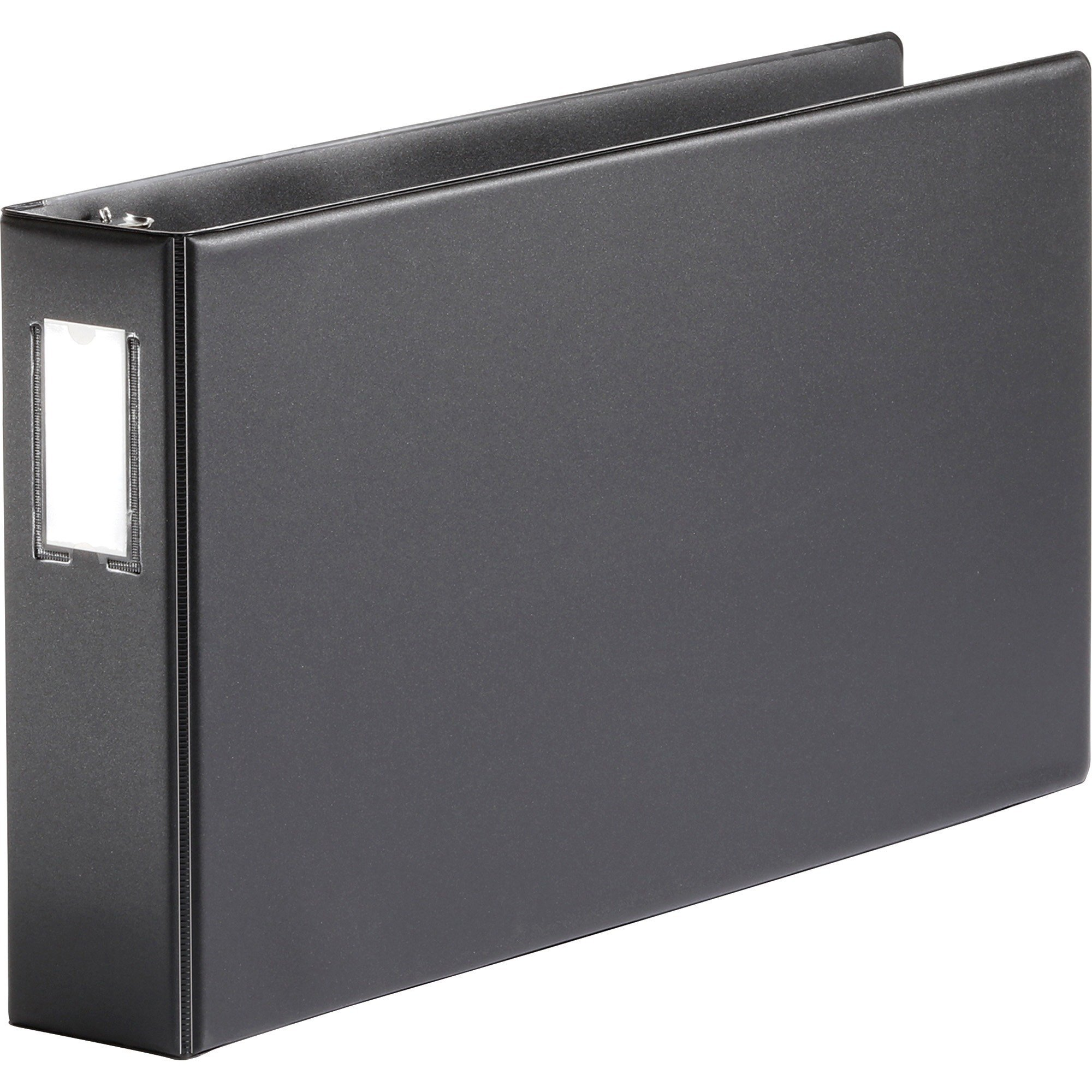 MyOfficeInnovations 3254299 Reference Binder 11''x17'' 3'' Black
