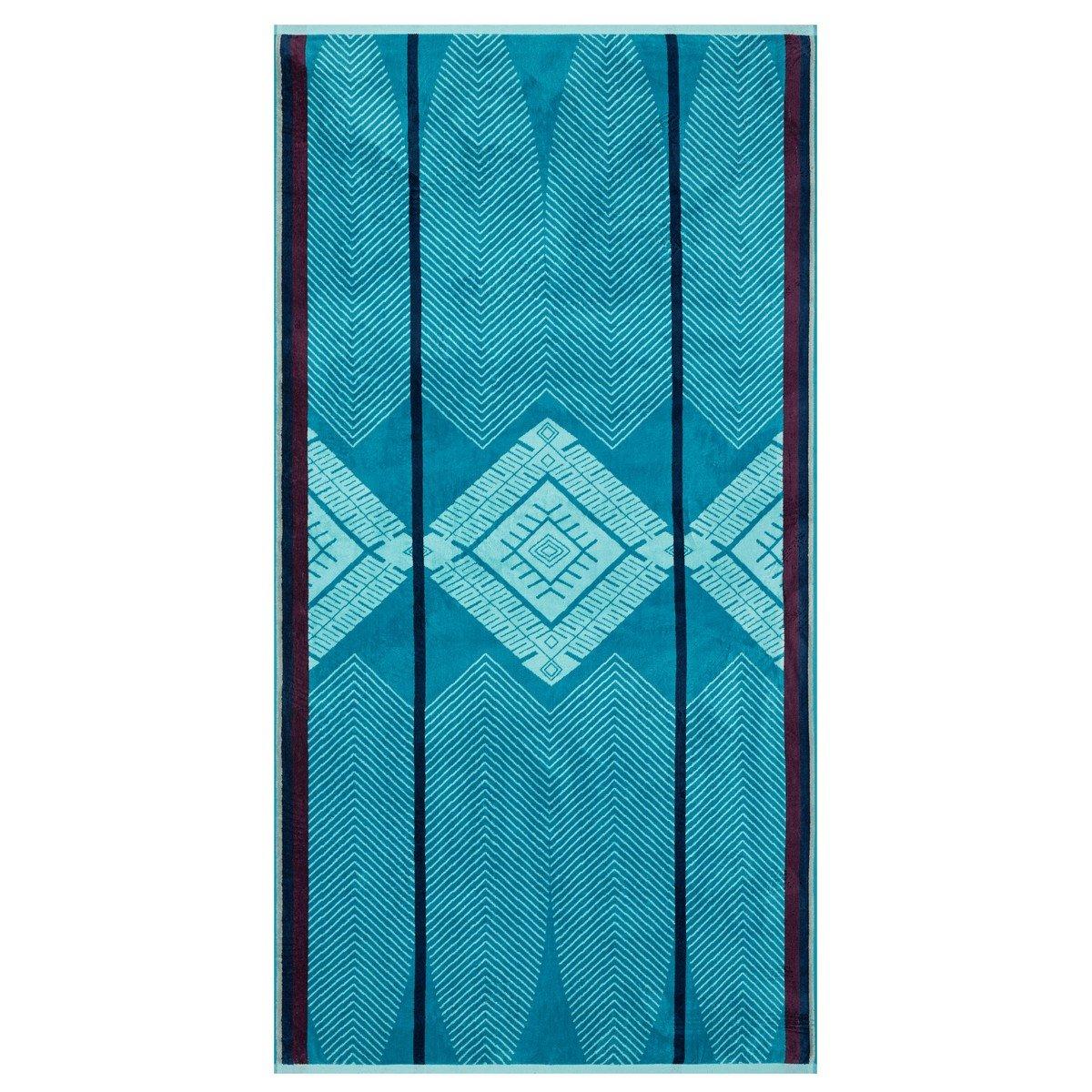 Le Jacquard Francais 23323 toalla de playa Mombasa algodón peinado lago 100 x 200 x 0.1 cm: Amazon.es: Hogar