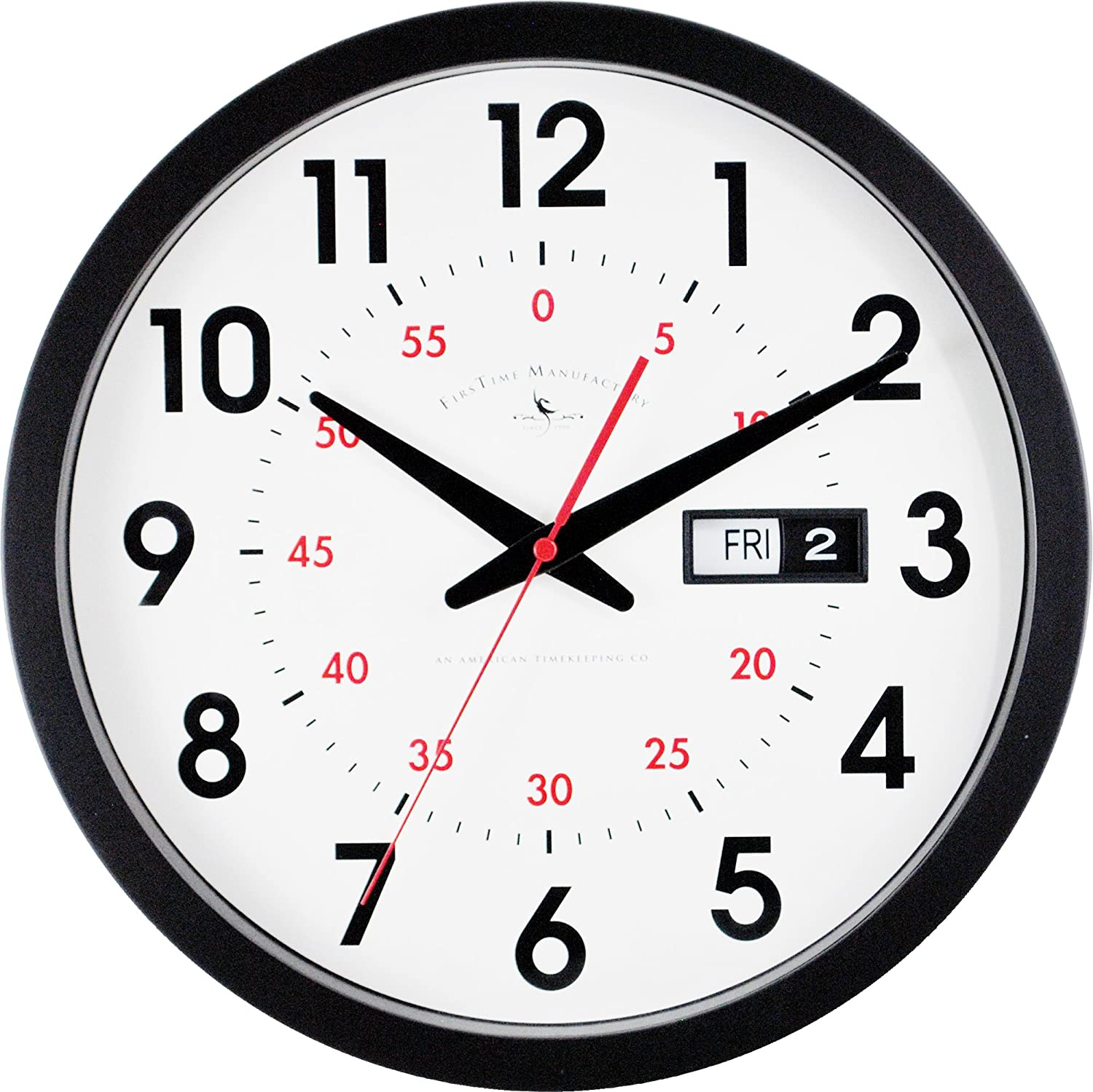 FirsTime Day Date Wall Clock FirsTime & Co. 25604