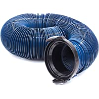 Valterra Products, Inc. D04-0120PB 10' Blue Standard Bagged Quick Drain with Straight Hose Adapter