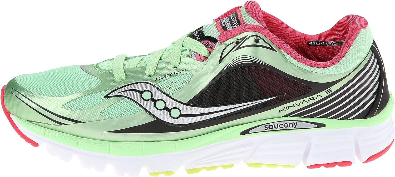 Saucony Women's Kinvara 5 Running Shoe,MintCherry,8 M US