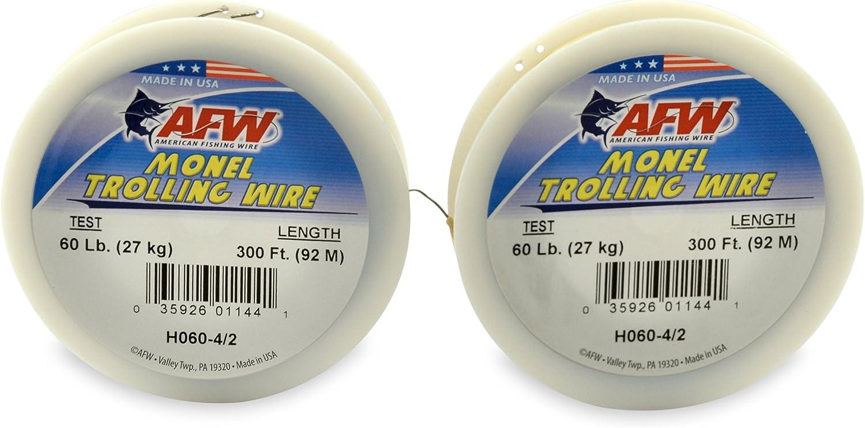 American Fishing Wire Monel Schleppdraht Einzelstrang