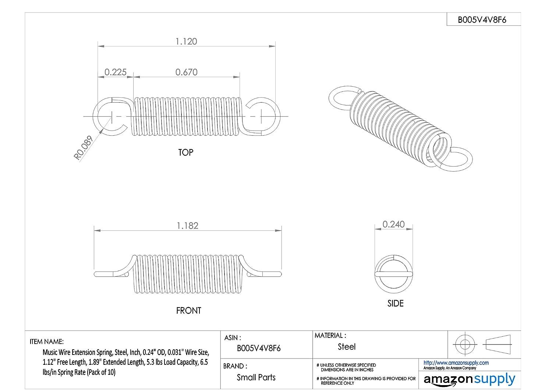 D/&D PowerDrive 233L100 Timing Belt