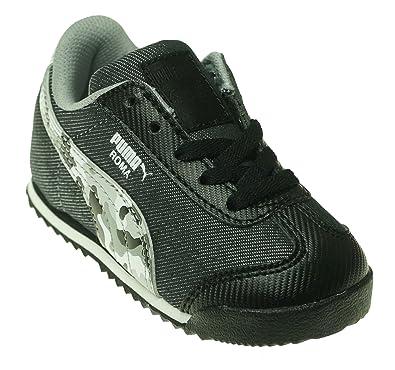 d7578e9e0beb PUMA Roma Denim Camo Kids Sneaker