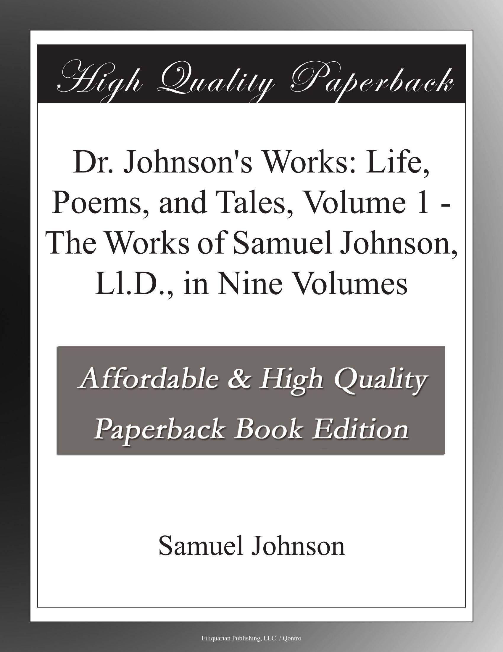 Samuel Johnson Poems 6