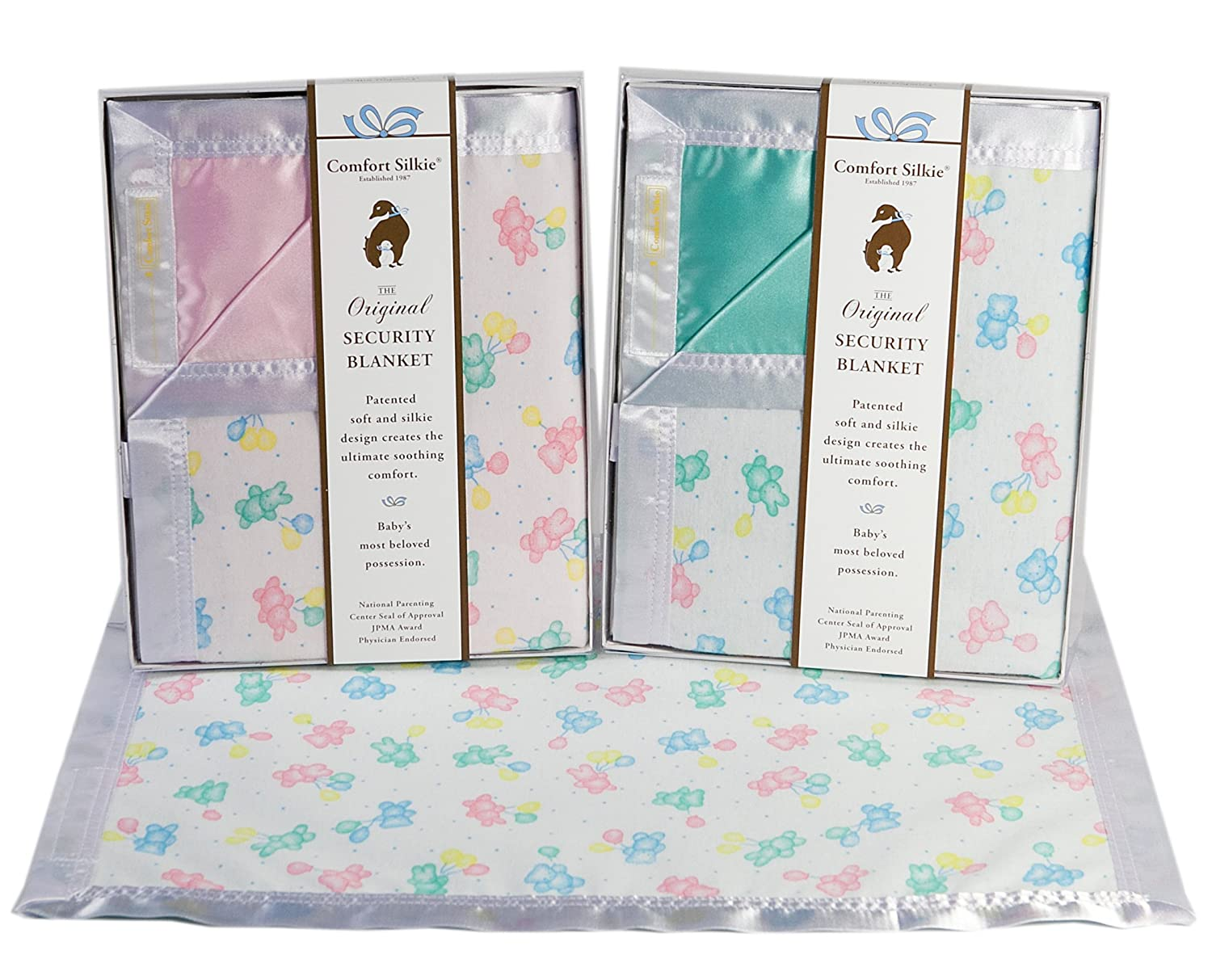 SG/_B00CBL79MS/_US The Celebration Collection Security Blanket by Comfort Silkie ~ Pastel Pink