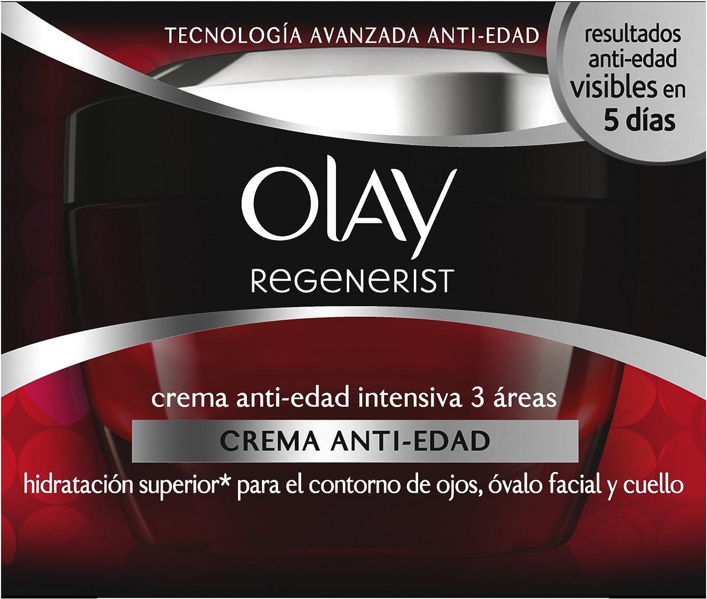 Olay Regenerist Crema Anti-Edad Intensiva 3 Áreas - 50 ml: Amazon.es: Belleza