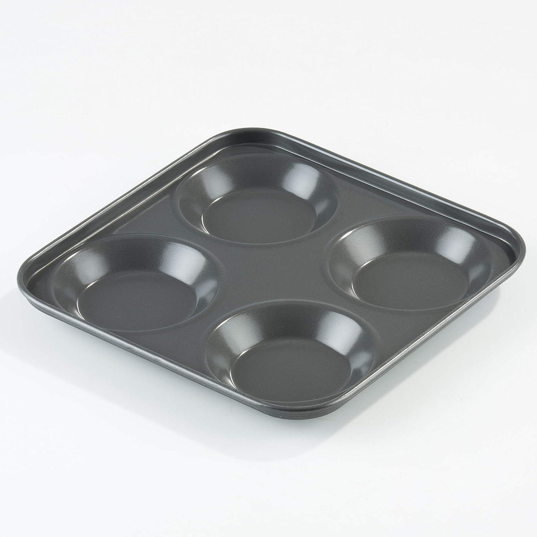 Be Pro Chef Prochef - Bandeja de horno metálica para pudín (revestimiento de silicona de teflón, tamaño grande): Amazon.es: Hogar