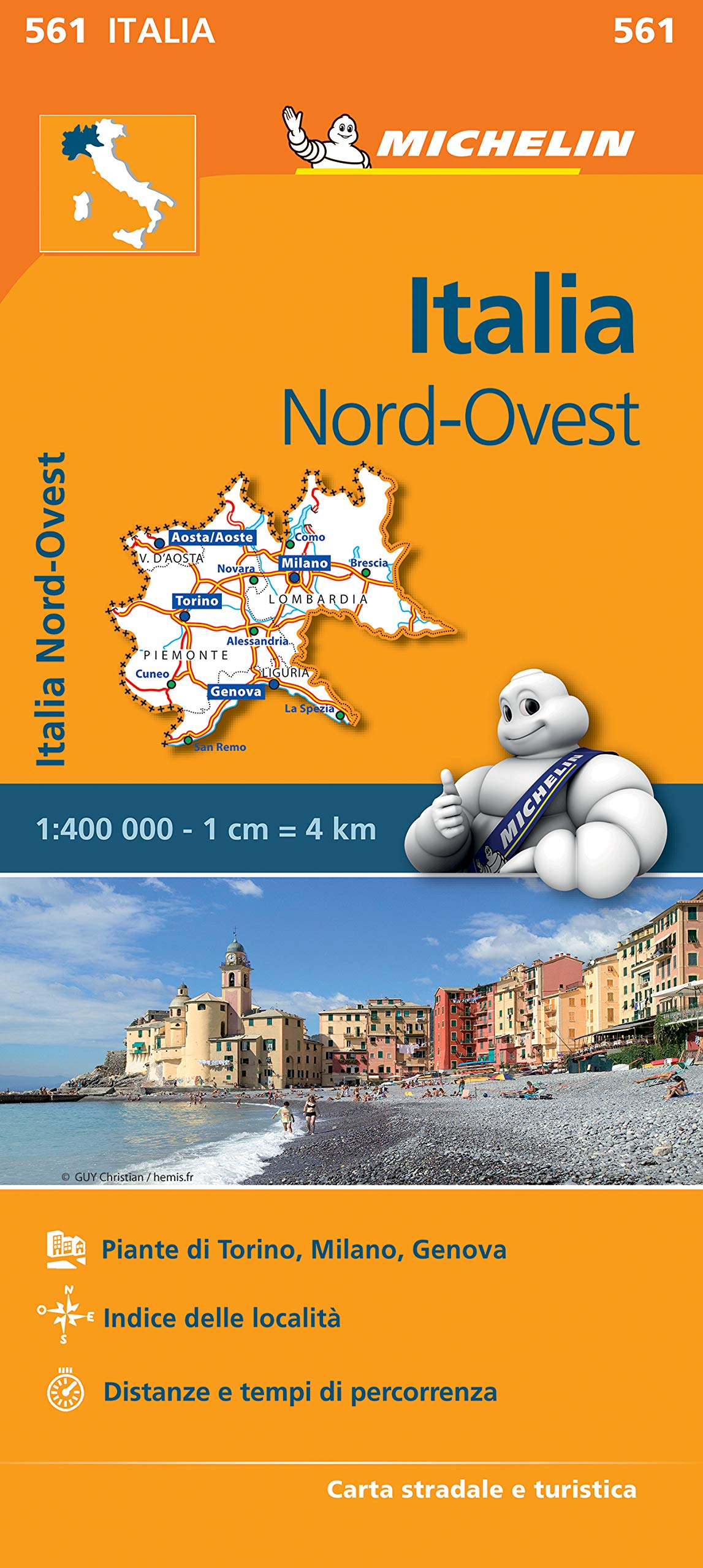 Cartina Stradale Italia Nord Est.Amazon It Carta Stradale Italia Nord Ovest Map Aa Vv Libri