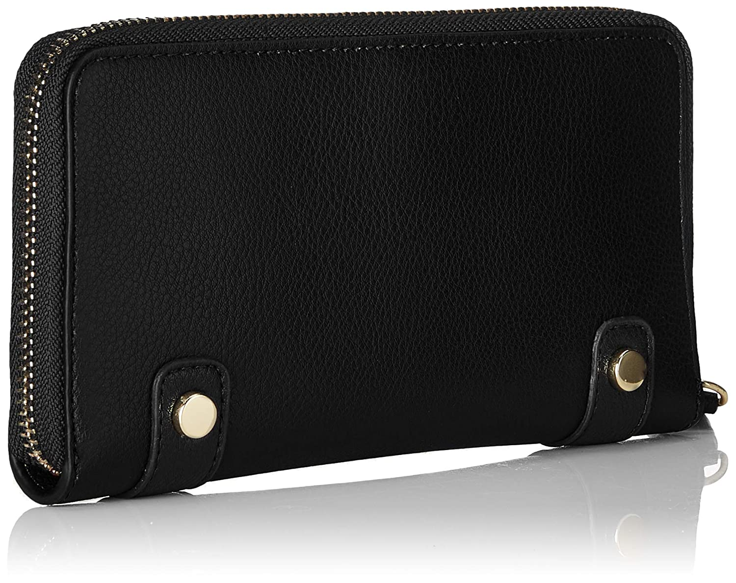 Amazon.com: Tommy Hilfiger Chain Za Wallet, Womens Black, 2x9.7x18.9 cm (B x H T): Shoes