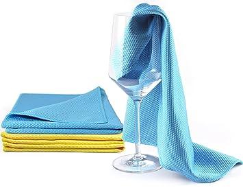 youniclean Cristal gamuzas para abrillantado/gamuzas para abrillantado/gläserpo lier Toalla/cristal/