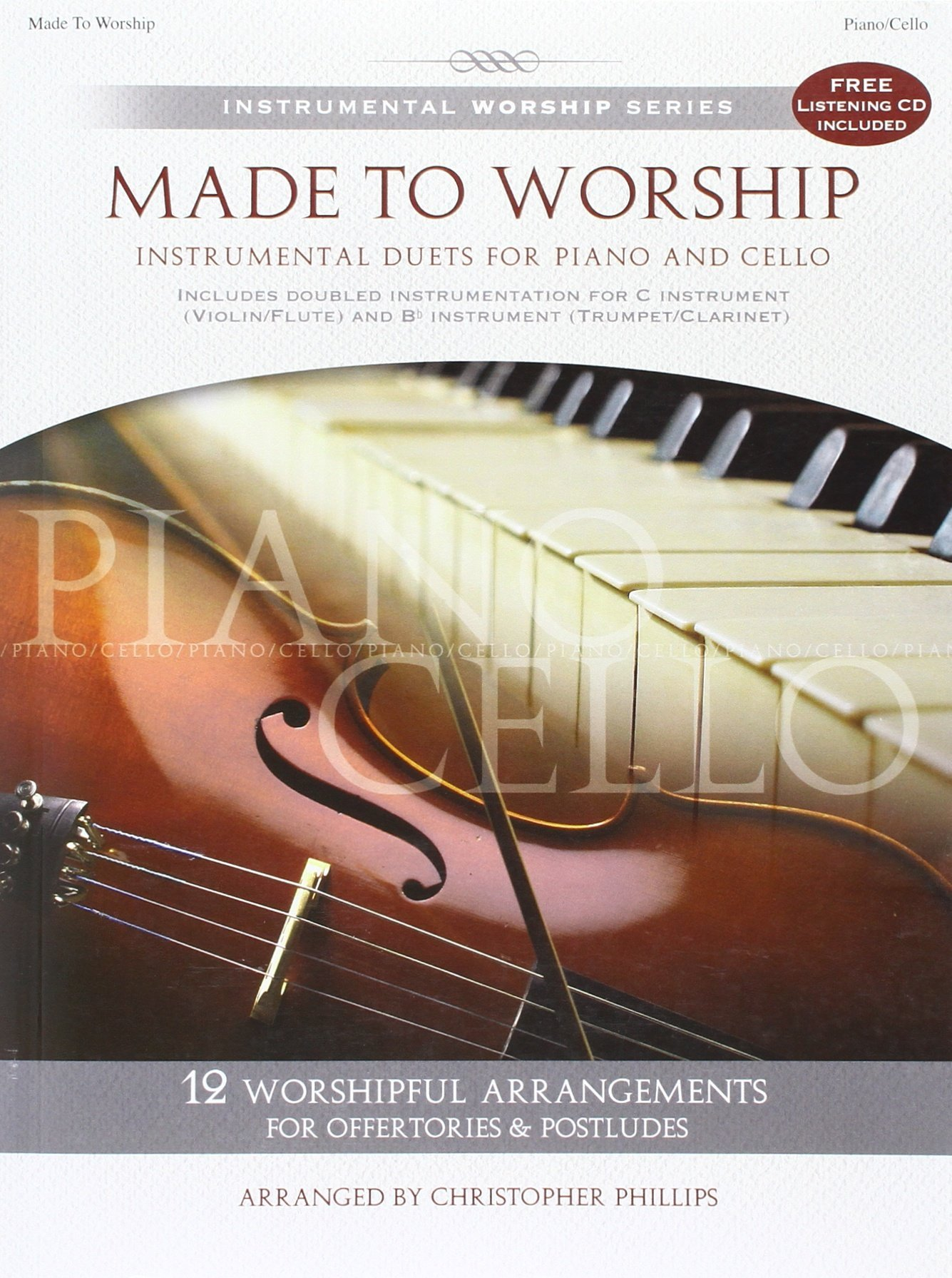 Amazon com: Made to Worship: Instrumental Duets for Piano