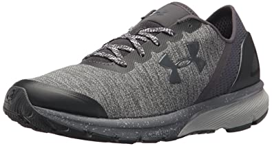 035543d9826 Under Armour Men s Charged Escape Running Shoe Glacier (100) Rhino Gray 7