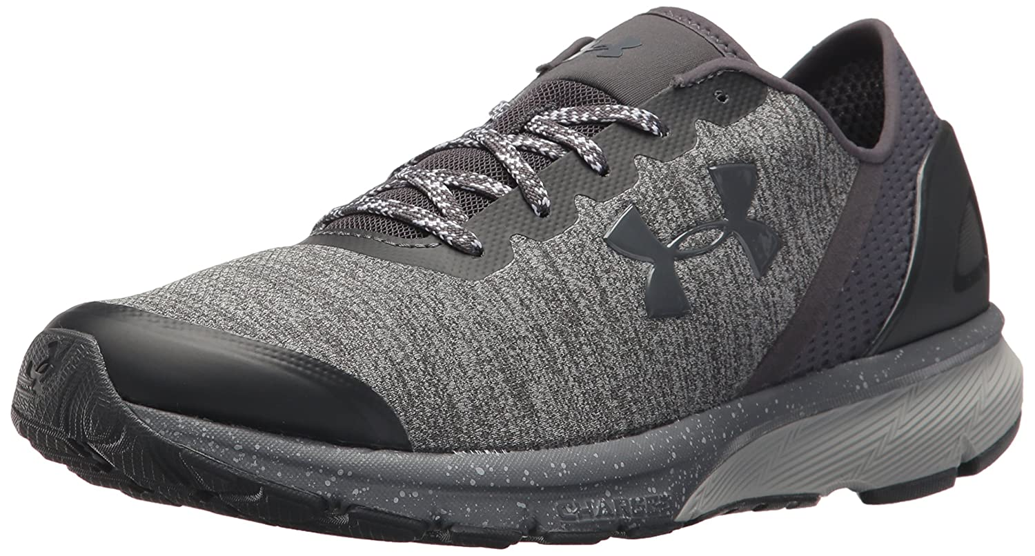Under Armour Men's Charged Escape Running Shoe B0758756Q6 10 M US|Glacier Gray (100)/Rhino Gray