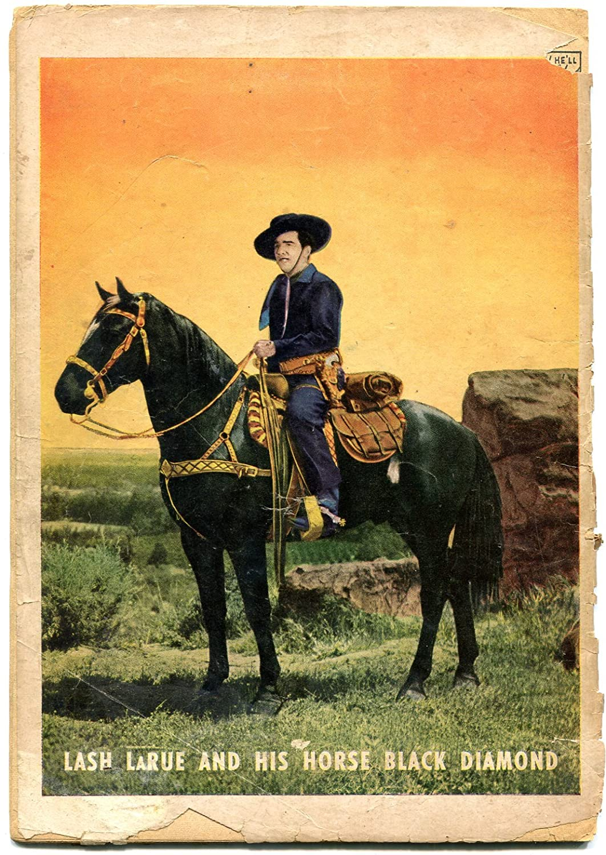 Amazoncom Lash Larue Western 4 1950 Photo Covers Fawcett Golden