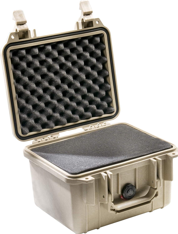 Pelican 1300 Case with Foam OD Green