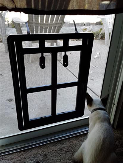 Amazon Leshuo Automatic Magnetic Dog Screen Door Pet Cat