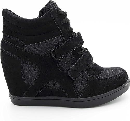 basket compensé chaussure a talon