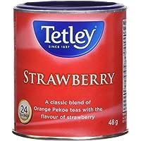 Tetley Tea Strawberry Specialty Tea, 24-Count