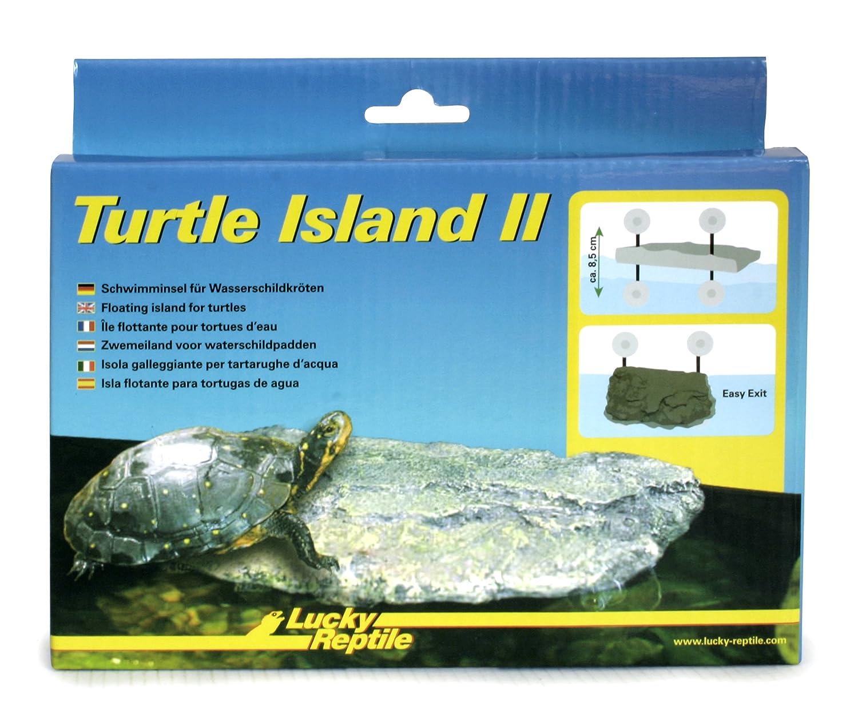 Lucky Reptile Turtle Island II G Isola Galleggiante per Tartarughe