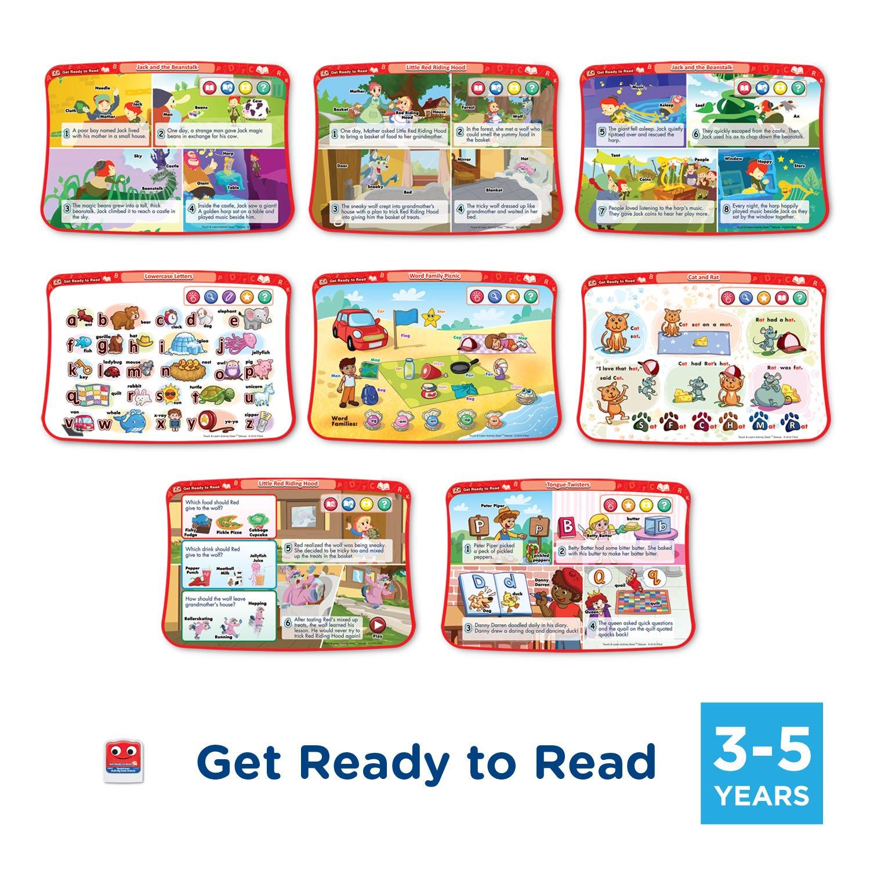 VTech Activity Desk 4-in-1 Kindergarten Expansion Pack Bundle for Age 3-5 by VTech (Image #2)