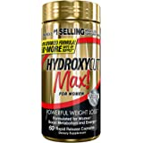 Hydroxycut Max, Formulated for Women, America's #1 Selling Weight-Loss Brand, 60 Rapid Release Capsules, Green Coffee Extract, Powerful Weight Loss, Fast-Acting Energy, Boost Metabolism