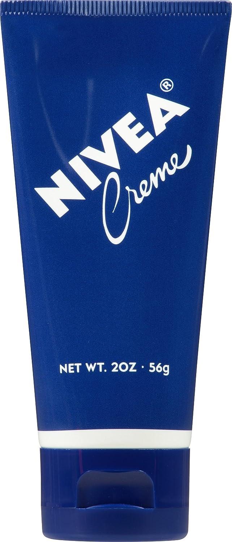 NIVEA Crème - Unisex All Purpose Moisturizing Cream for Body, Face & Hand Care - Travel Size - 2 oz. Tube
