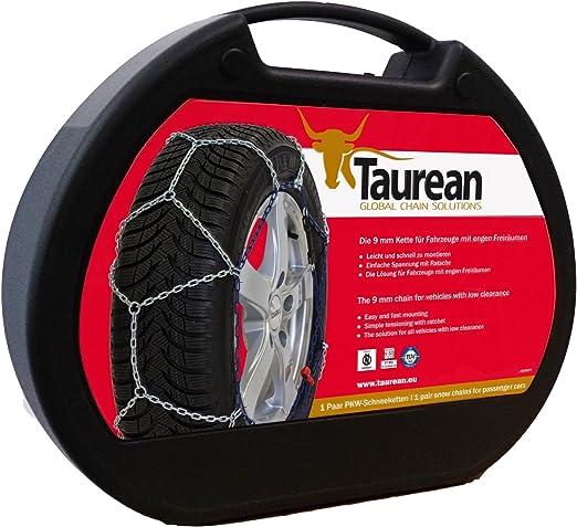Taurean 29621 PC1 PKW Schneeketten 77 2 St/ück