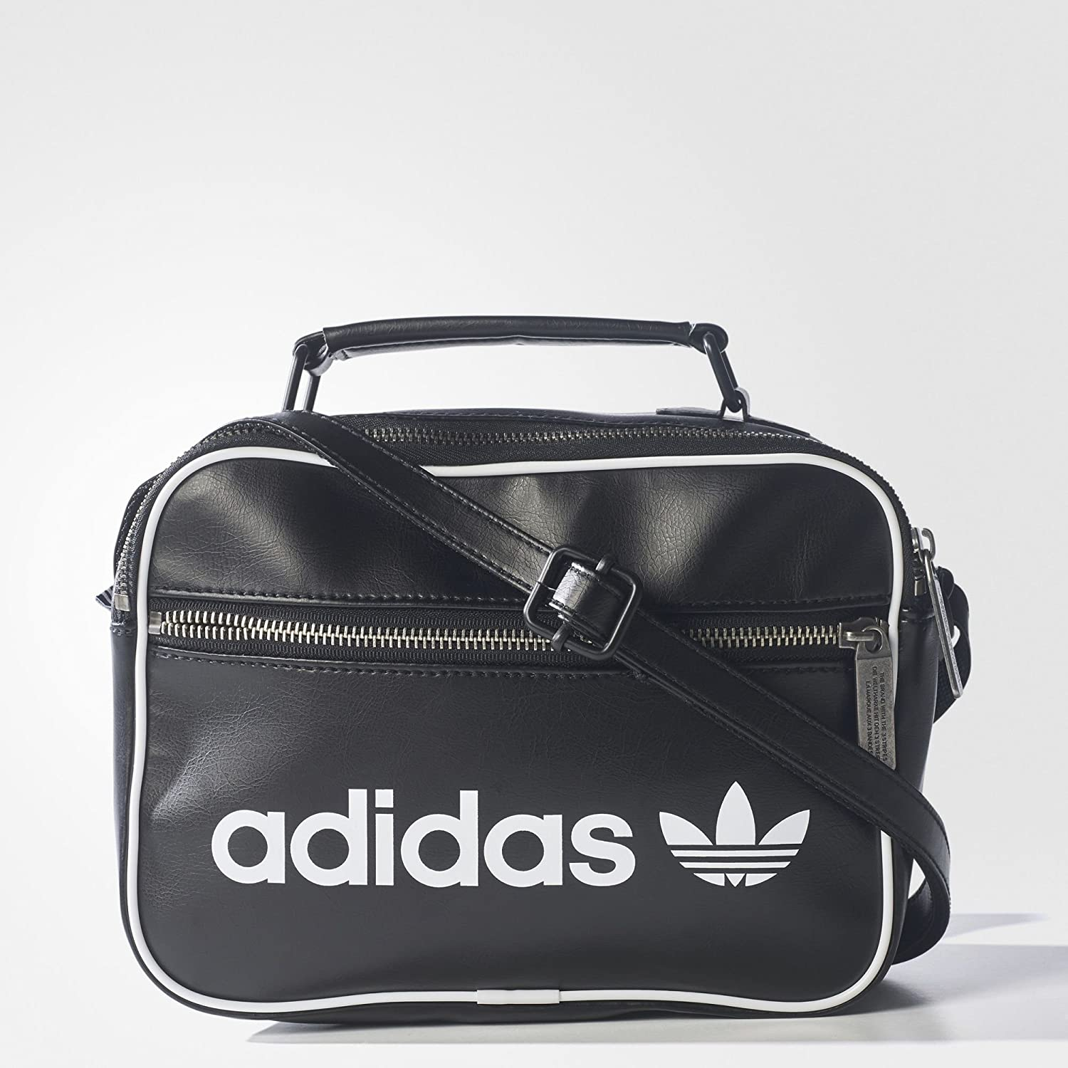 adidas originals Mini Airl Vintage Sac à Main Mixte Blanc/Blanco NS BQ1492