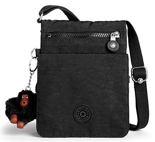 6155f0928b Kipling Shoulder Bag ELDORADO - (True Black)  Amazon.in  Shoes ...