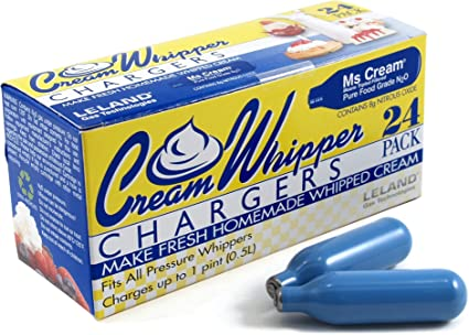Nitrous Oxide For Sale >> 120 Each Leland 8 Gram N2o Nitrous Oxide Cream Whippers