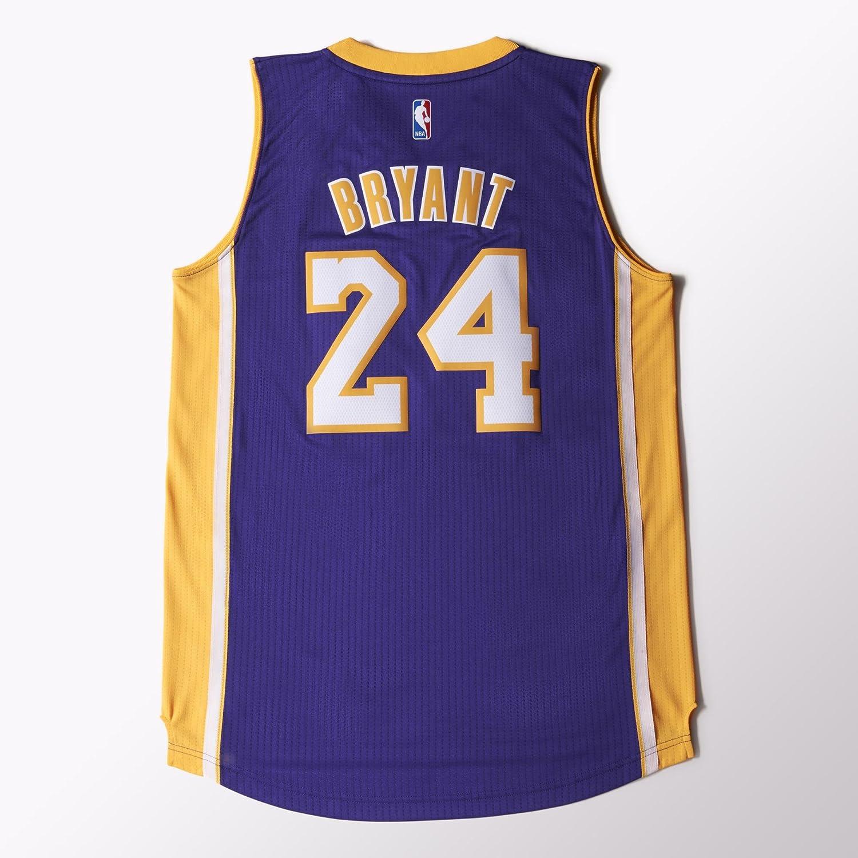 604b855e4 adidas A45975 NBA Los Angeles Lakers International Swingman Jersey  24 Kobe  Bryant (Purple Yellow - XL)  Amazon.ca  Sports   Outdoors